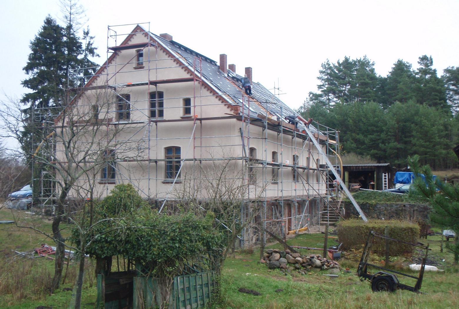 stuckfassaden alter bauernhäuser